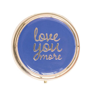 Round Pill Case Love You More