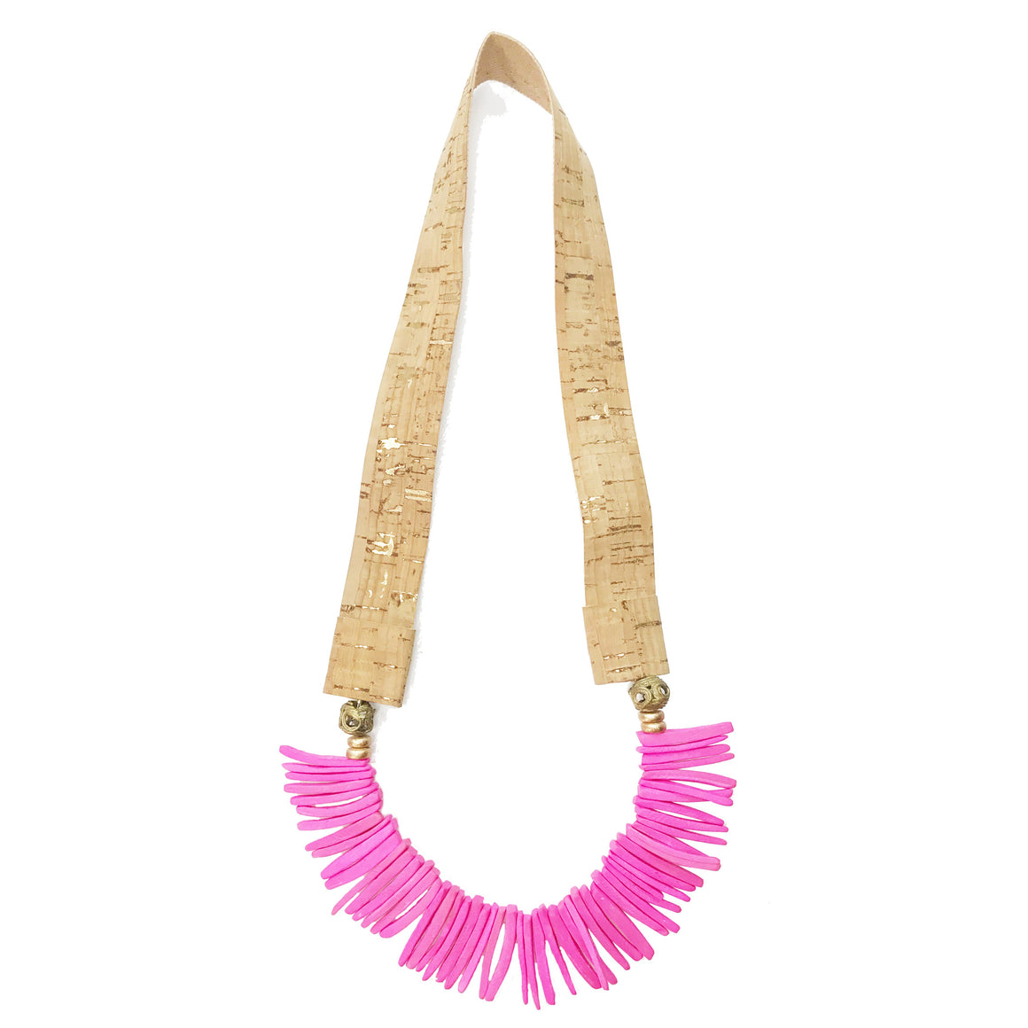 Necklace Bermuda Hot Pink