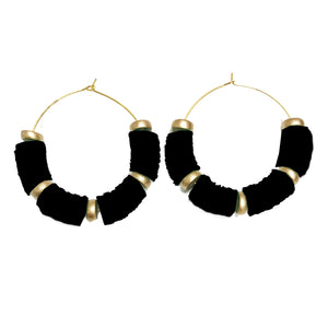 Earrings Victoria Falls Black