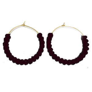 Earrings Hatteras Black