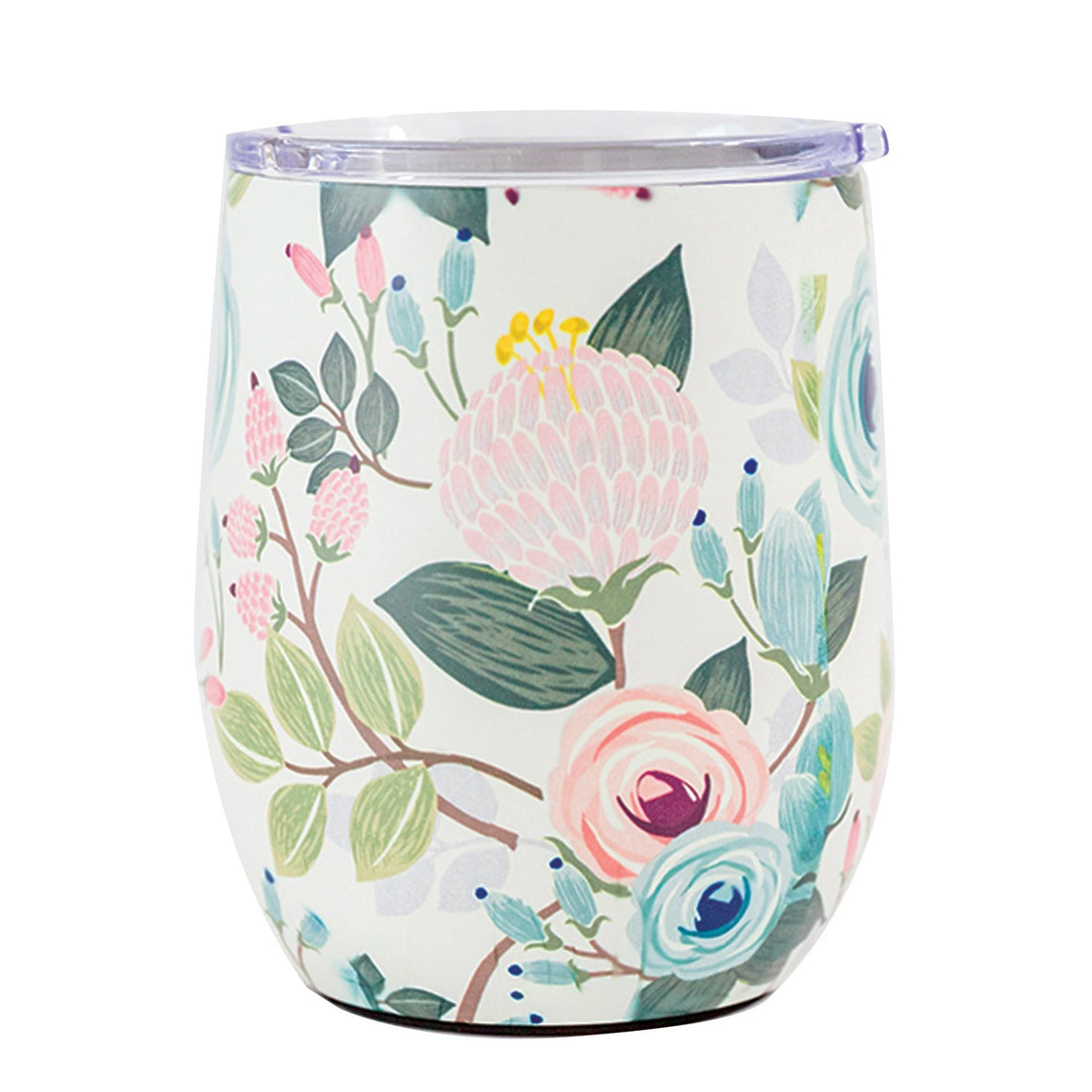 Peach Floral | Stainless Steel Drink Tumbler