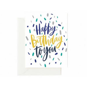 Greeting Cards | Happy Birthday to You