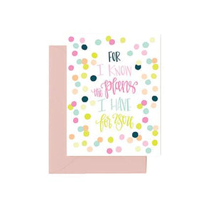 Greeting Cards | For I Know the Plans I Have for You