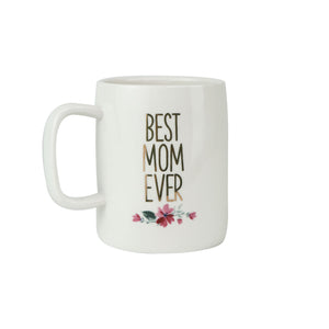 Ceramic Mug Organic Best Mom Ever