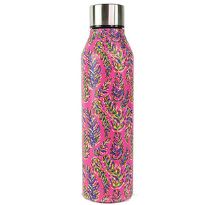 Resort Collection | Stainless Bottle | Pink Frond