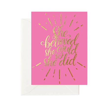 Greeting Cards | She Believed She Could So She Did