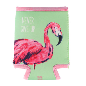 Beverage Sleeve Resort Never Give Up