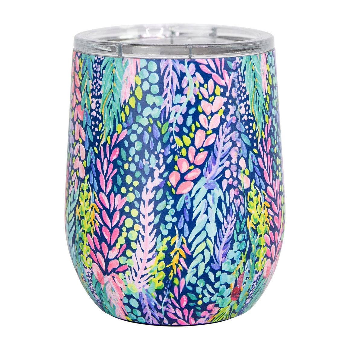 Resort Collection | Stainless Drink Tumbler | Wisteria Waves
