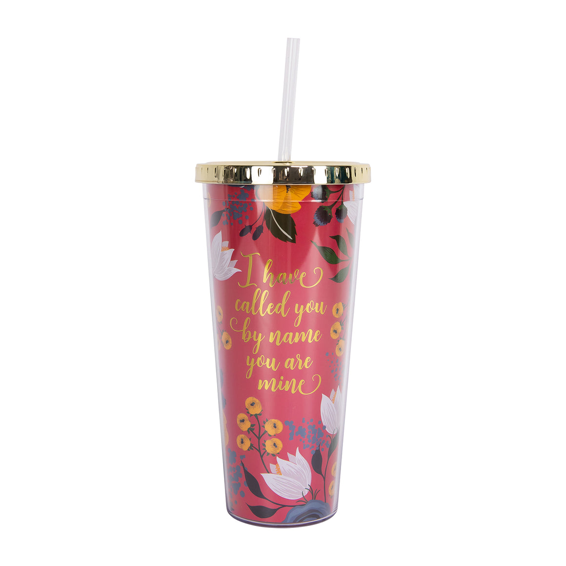 Straw Tumbler | Called You By Name