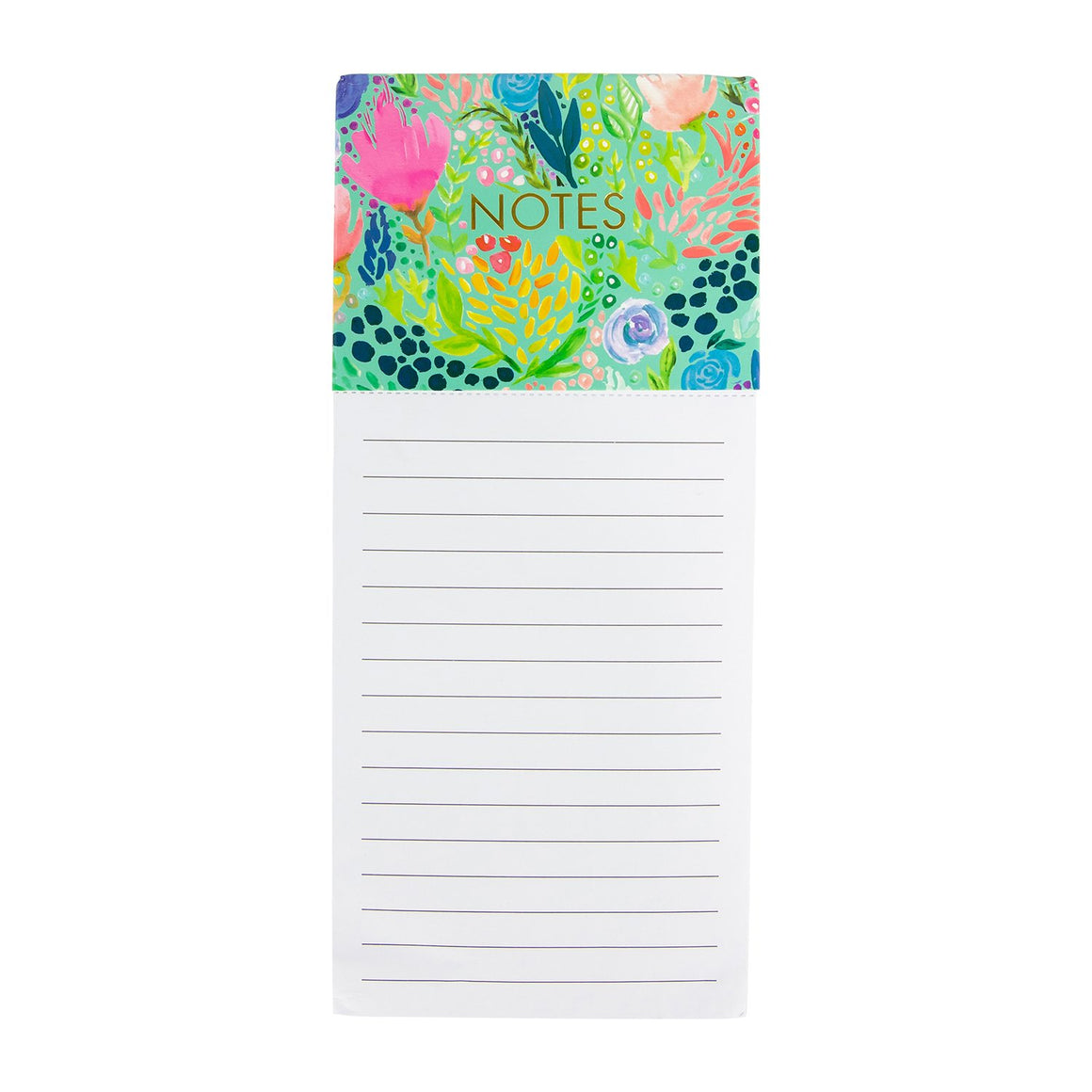Magnetic Notepad Tropical Mix