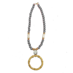 Necklace Atlantic Light Gray