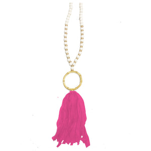 Necklace Brisbane Hot Pink