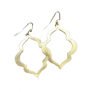 Earrings Charleston Gold/No Pearl