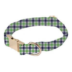 Collar Green Stripe Medium