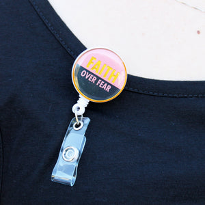 Badge Reel Faith Over Fear