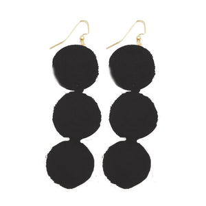Earrings Manhattan Black