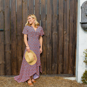 Wrap Maxi Dress | Summer Apparel