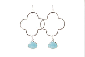 Catalina Charm Earrings | Silver