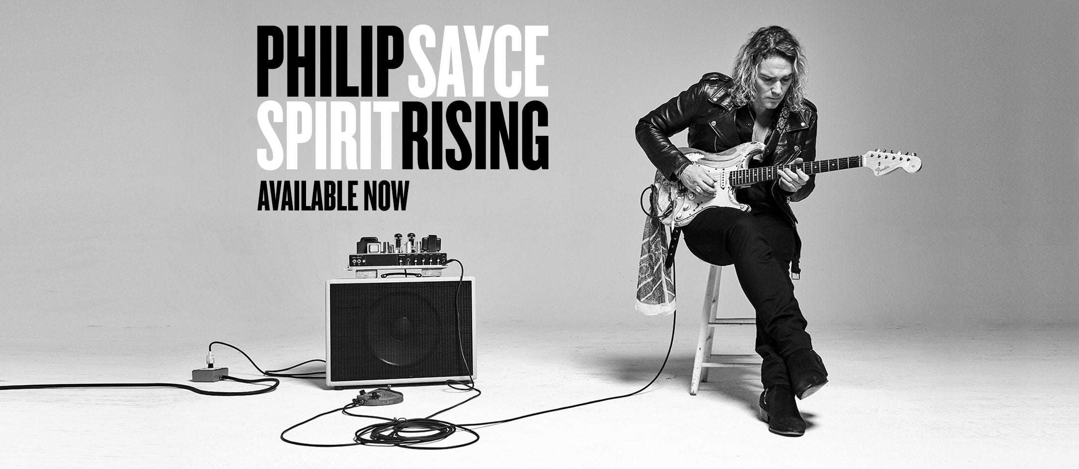 philip sayce - spririt rising available now