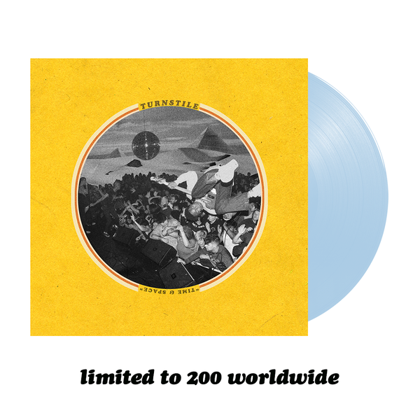 Time & Space Vinyl (Light Blue)