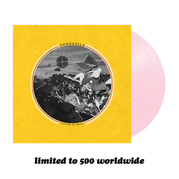 Time & Space Vinyl (Baby Pink)