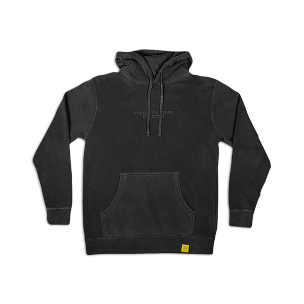 Embroidered Logo Hoodie (black)