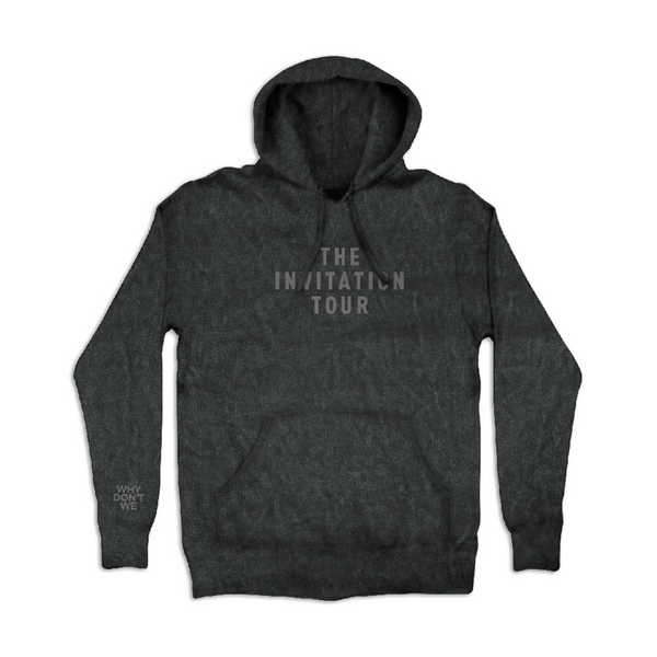 Invitation Tour Hoodie (Mineral Wash)