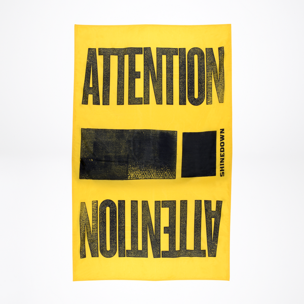 Attention Attention 3'x5' Flag