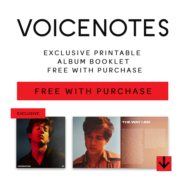 Voice Notes Digital Album Bundle