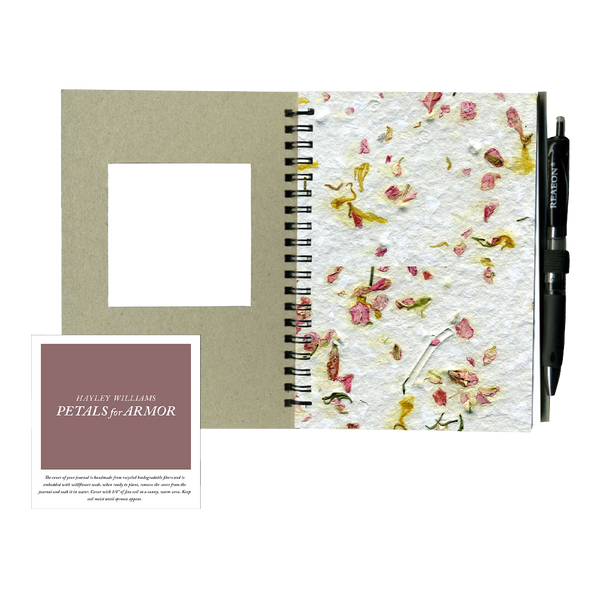 Seed Paper Notebook and Pen Bundle