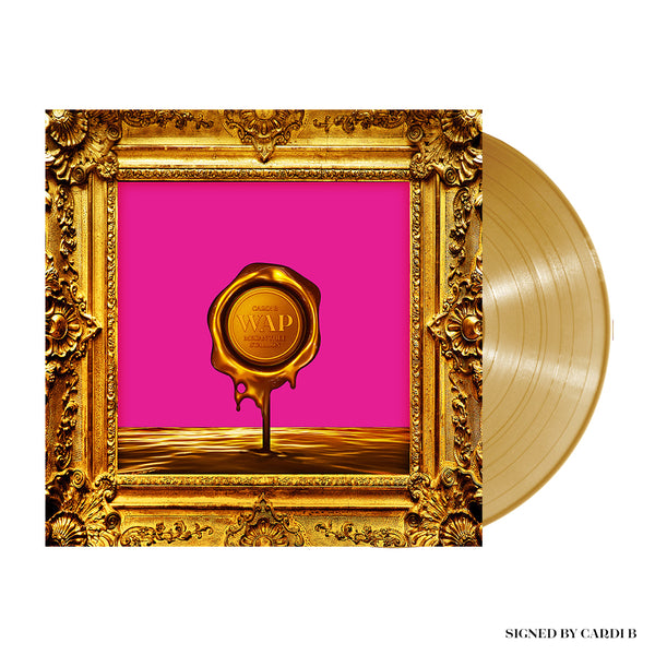 [PRE-ORDER] WAP (Drip Artwork) Signed Vinyl (Gold) + Digital Single