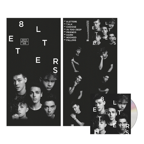 8 Letters Poster Bundle (Full Band)