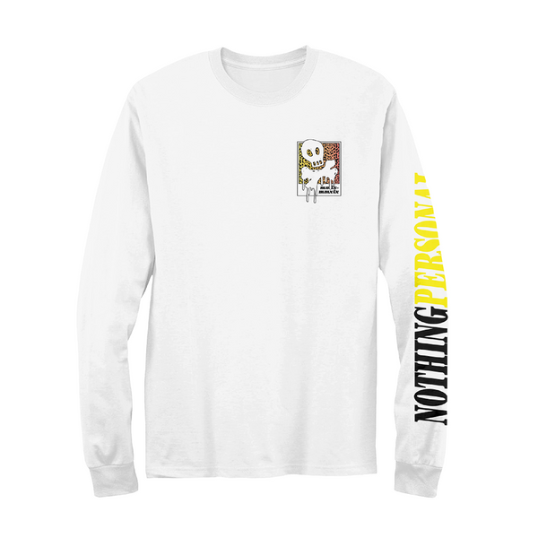 Nothing Personal Long Sleeve (White)