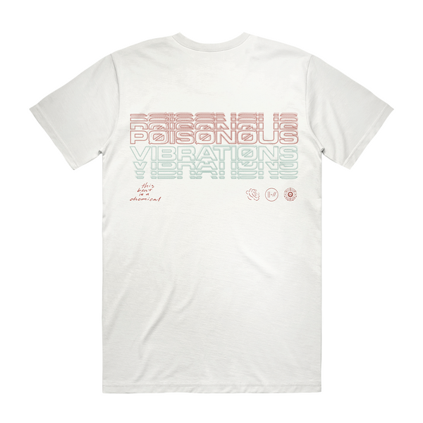Poisonous Vibes Hollow T-Shirt (White)