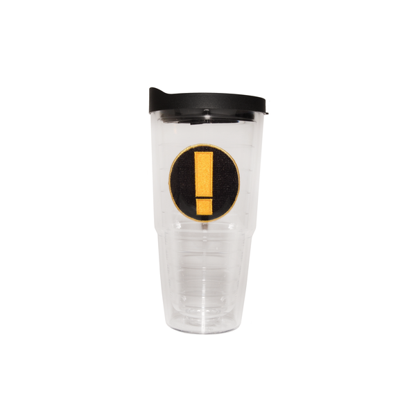 Exclamation Tervis Tumbler clear