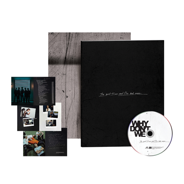 [PRE-ORDER] The Good Times And The Bad Ones Zine Collectible CD