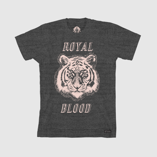 Heather Stacked Tiger T-Shirt