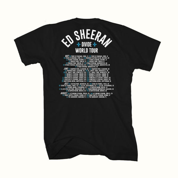 [PRE-ORDER] Strum Sketch Tour T-Shirt (Black)