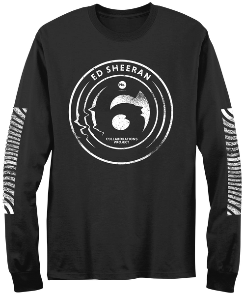 No.6 Collaborations Project Pop Up Glitch Black Long Sleeve