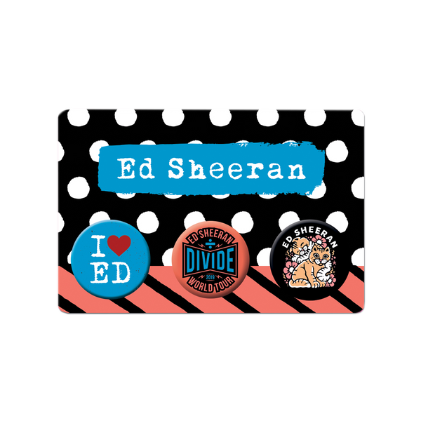 [PRE-ORDER] Divide Tour Button Badge Set