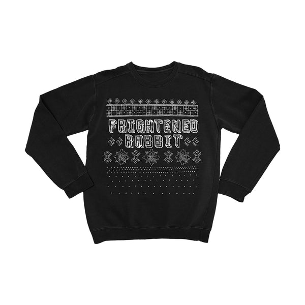 [PRE-ORDER] Frightened Rabbit Christmas Black Sweatshirt