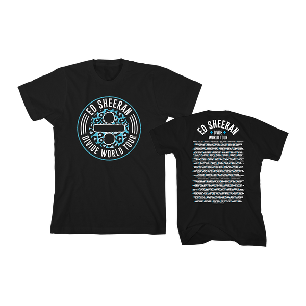 [PRE-ORDER] Commemorative Divide World Tour T-Shirt (Limited Edition)