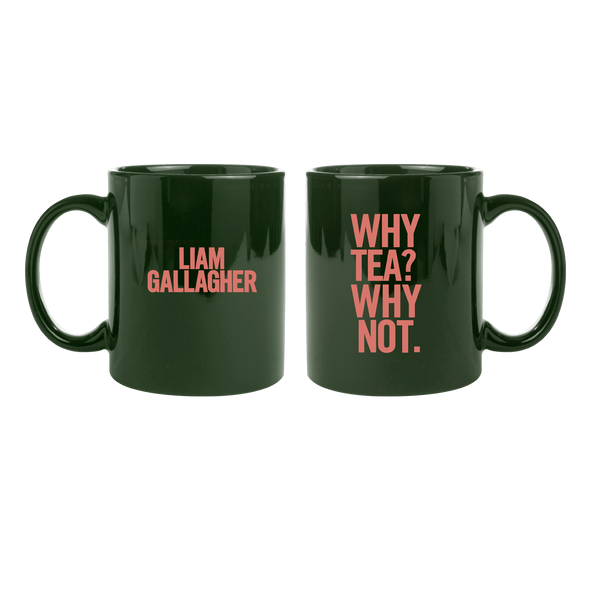 [PRE-ORDER] Why Tea Why Not Mug