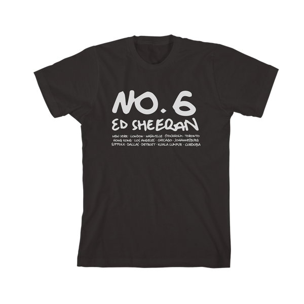 No.6 Collaborations Project Digital Album + Black T-Shirt