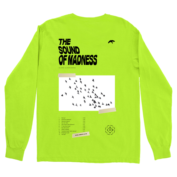 [PRE-ORDER] Sound of Madness Long Sleeve (Neon)