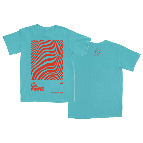[PRE-ORDER] Sound of Madness T-Shirt (Turquoise)