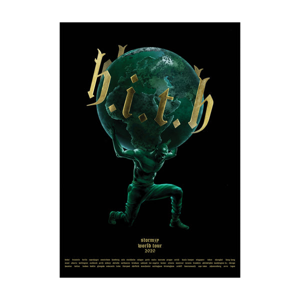 [PRE-ORDER] HITH World Tour 2020 Poster