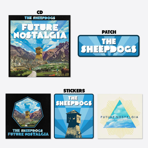 Future Nostalgia Patch & Stickers Bundle