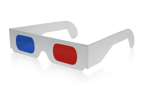 Double Sided Poster / 3D Glasses
