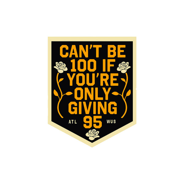 [PRE-ORDER] Can't Be 100 Pennant (Limited Edition)